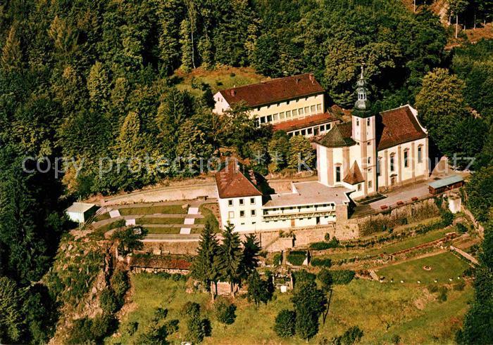 AK / Ansichtskarte Lohr Main Fliegeraufnahme Kloster Maria Buchen Kat. Lohr a.Main