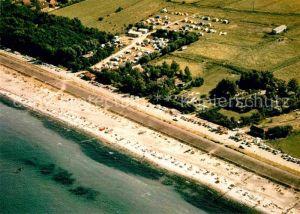 AK / Ansichtskarte Schoenberger Strand Fliegeraufnahme Camping und Strand Kat. Schoenberg (Holstein)