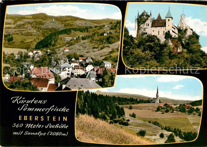 AK / Ansichtskarte Eberstein Schloss Bergkirche Mirnig Kat. Eberstein