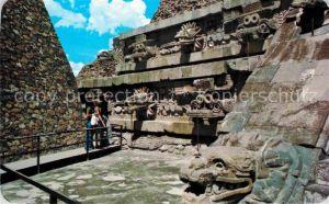 AK / Ansichtskarte Teotihuacan Templo de Quetzalcoatl Kat. San Juan Teotihuacan Mexiko