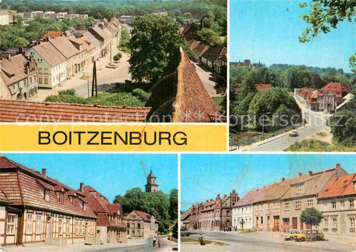 AK / Ansichtskarte Boitzenburg Teilansichten Kat. Boitzenburger Land