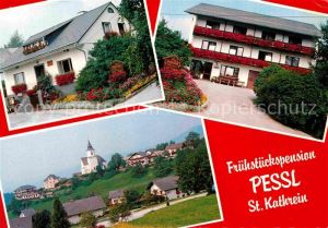 AK / Ansichtskarte St Kathrein Fruehstueckspension Pessl Panorama Kat. St Kathrein am Offenegg Steiermark