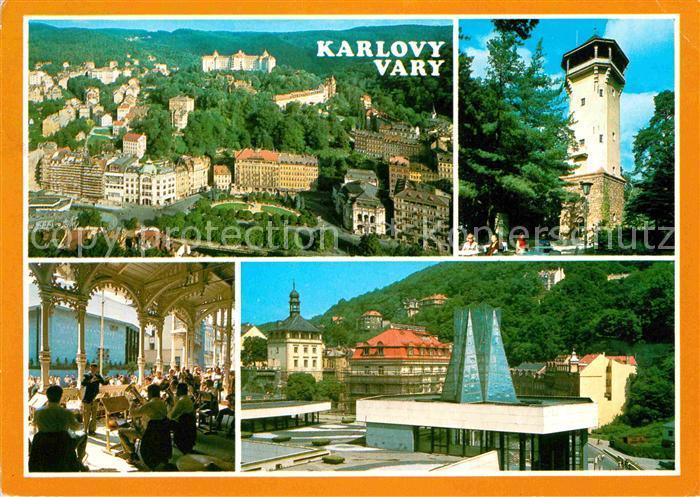 AK / Ansichtskarte Karlovy Vary  Kat. Karlovy Vary Karlsbad