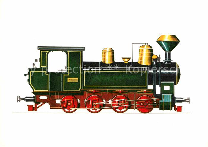 AK / Ansichtskarte Lokomotive Schmalspurlokomotive Staatsbahn Ungarn 1906 1914 Kat. Eisenbahn