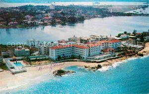 AK / Ansichtskarte San Juan Puerto Rico Condado Beach Hotel Fliegeraufnahme Kat. San Juan