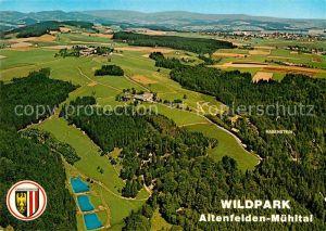 AK / Ansichtskarte Altenfelden Oberoesterreich Wildpark Altenfelden Muehltal Fliegeraufnahme Kat. Altenfelden