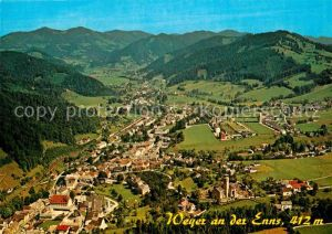 AK / Ansichtskarte Weyer Enns Ennstal Fliegeraufnahme Kat. Weyer