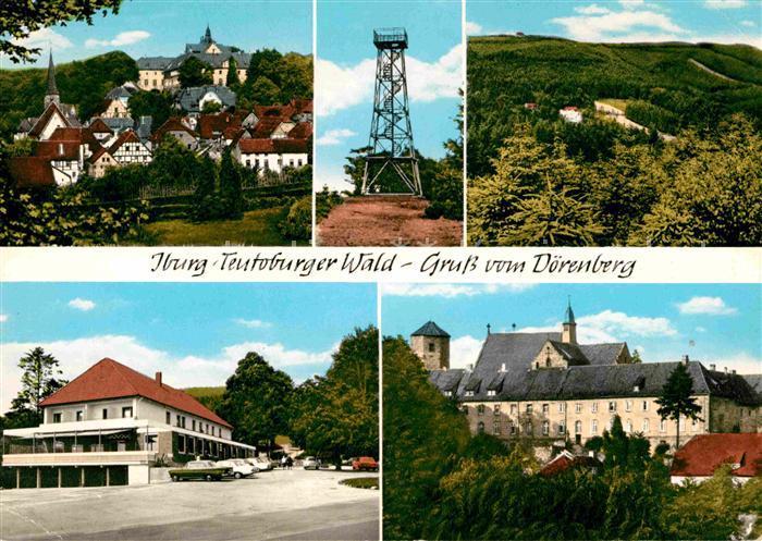 AK / Ansichtskarte Iburg Teutoburger Wald Doerenberg Hotel