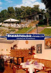AK / Ansichtskarte Altenhof Schorfheide Steakhouse Werbellow am Werbellinsee