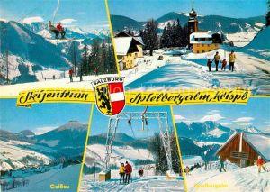 AK / Ansichtskarte Gaissau Spielbergalm Krispl Winter Kat. Gaissau
