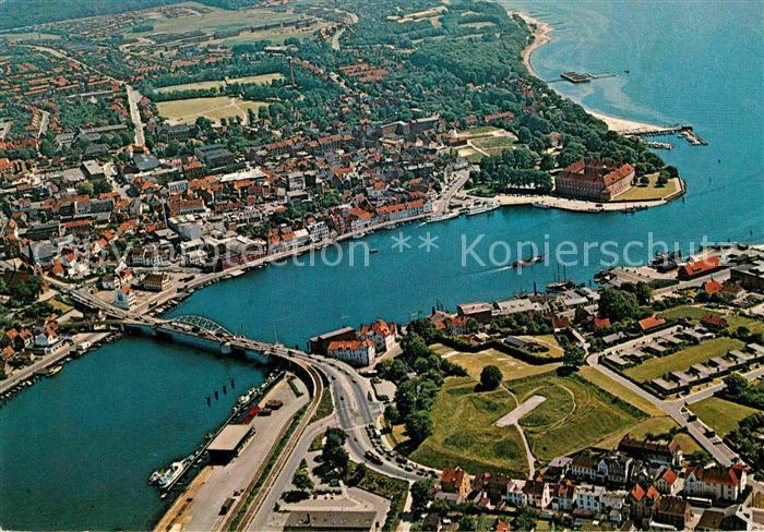 AK / Ansichtskarte Sonderborg Fliegeraufnahme  Kat. Sonderborg