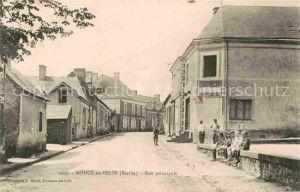 AK / Ansichtskarte Monce en Belin Rue Principale Kat. Monce en Belin