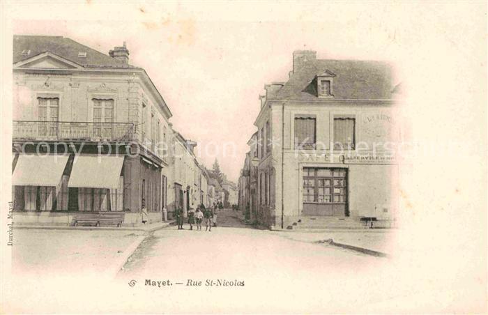 AK / Ansichtskarte Mayet Rue St. Nicolas Kat. Mayet