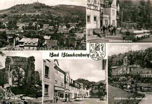 AK / Ansichtskarte Bad Blankenburg Schwarzatal Express Teilansicht FDGB Heim Am Goldberg Greifenstein  Kat. Bad Blankenburg