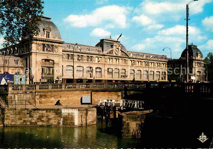 AK / Ansichtskarte Toulouse Haute Garonne Gare Matabiau Ecluse du Canal du Midi Kat. Toulouse