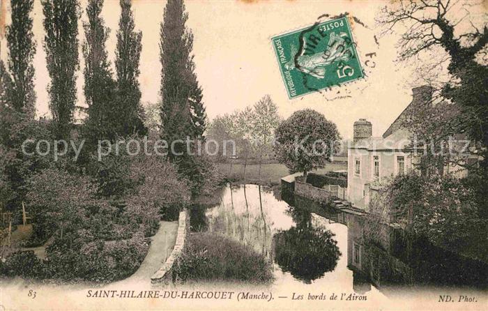 AK / Ansichtskarte Saint Hilaire du Harcouet Les bords de l Arion Kat. Saint Hilaire du Harcouet