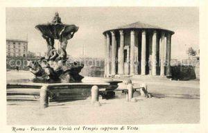 AK / Ansichtskarte Roma Rom Piazza della Verita col Tempio supposto di Vesta Kat.