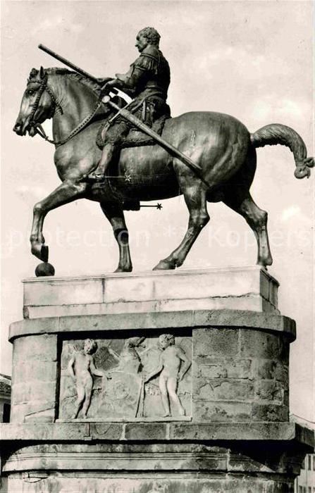 AK / Ansichtskarte Padova Monumento al Generale Gattamelata Denkmal Reiterstandbild Kat. Padova