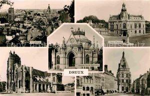 AK / Ansichtskarte Dreux Eglise Saint Pierre Le Beffroi Chapelle Royale St. Louis Caisse d`Epargne Kat. Dreux