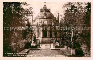AK / Ansichtskarte Dreux Entree du Parc Chapelle Saint Louis Kat. Dreux
