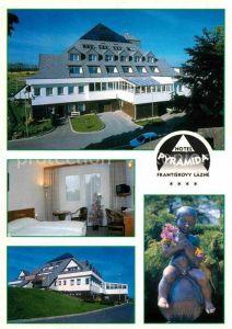 AK / Ansichtskarte Frantiskovy Lazne Hotel Pyramida Details Kat. Franzensbad