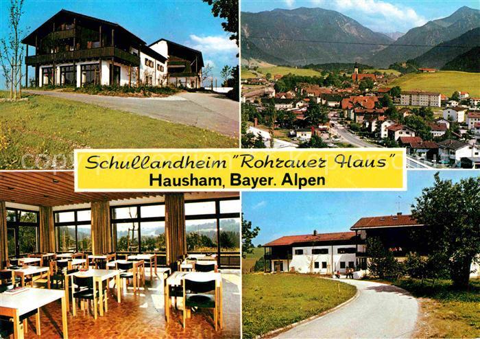 AK / Ansichtskarte Hausham Schullandheim Rohrauer Haus Speisesaal Panorama Kat. Hausham