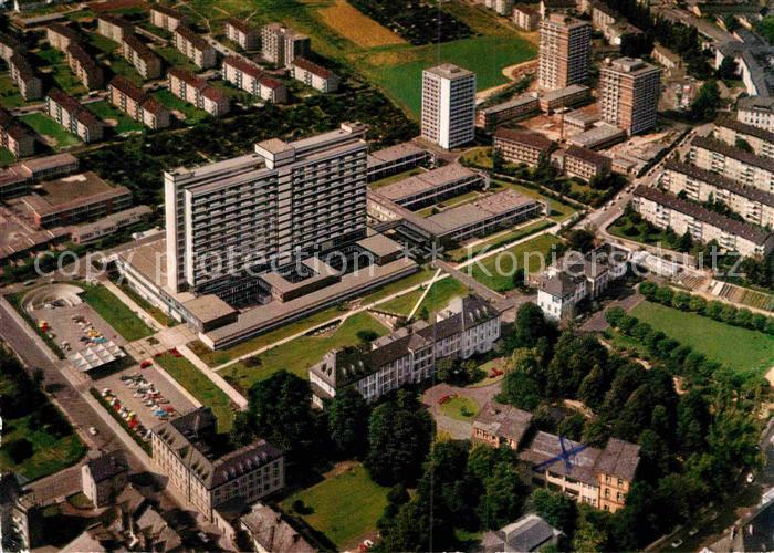 AK / Ansichtskarte Frankfurt Main Staedt Krankenhaus Fliegeraufnahme  Kat. Frankfurt am Main