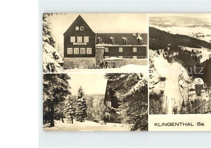 AK / Ansichtskarte Klingenthal Vogtland Jugendherberge Kat. Klingenthal Sachsen