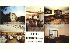 AK / Ansichtskarte Calvi Hotel Revellata Collection Charmes et Couleurs de la Corse Kat. Calvi