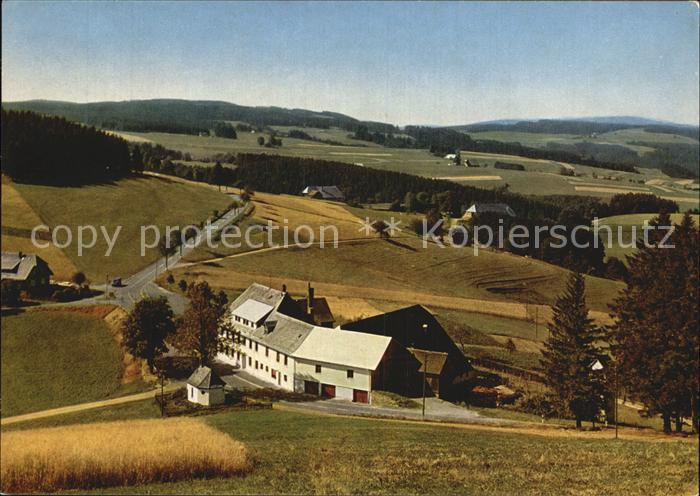 AK / Ansichtskarte Neuhaeusle Gasthaus und Metzgerei zur Sonne Panorama Schwarzwald Kat. St. Maergen
