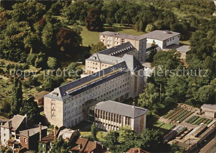 AK / Ansichtskarte Frankfurt Main Phil Theol Hochschule Sankt Georgen Fliegeraufnahme Kat. Frankfurt am Main