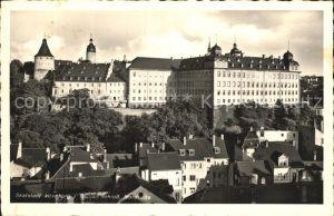 AK / Ansichtskarte Altenburg Thueringen Skatstadt mit Schloss Kat. Altenburg