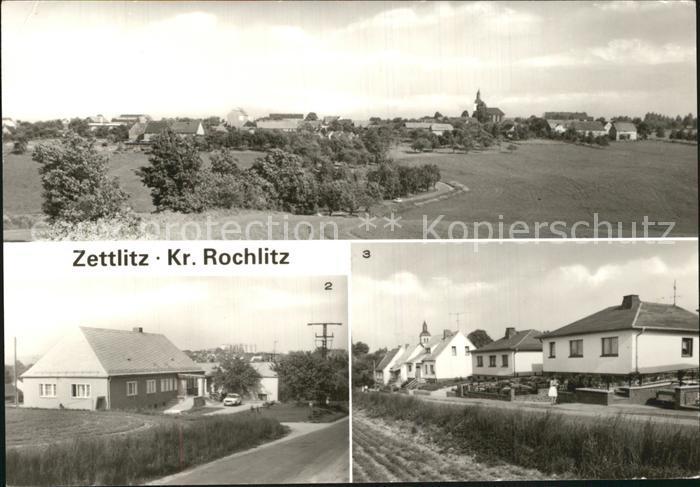 79993 Mehrbild Ak Gruss Aus Zettlitz Bei Rochlitz Gasthof Schule