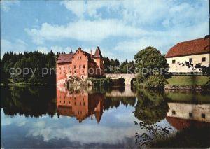 AK / Ansichtskarte Cervena Lhota Zamek Schloss Schlossteich Wasserspiegelung Kat. Tschechische Republik
