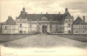 AK / Ansichtskarte Saint Georges sur Loire Chateau de Serrant Facade Nord Kat. Saint Georges sur Loire