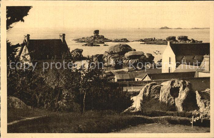 AK / Ansichtskarte Tregastel Vue generale du port Cotes du Nord Kat. Tregastel