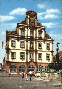 AK / Ansichtskarte Speyer Rhein Alte Muenze Historisches Gebaeude Brunnen Kat. Speyer