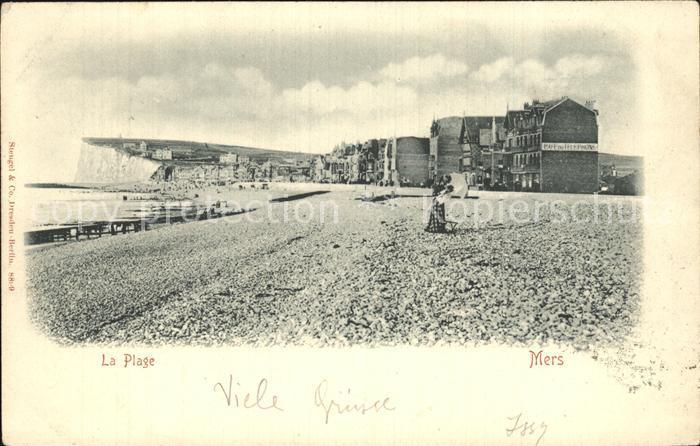 AK / Ansichtskarte Mers les Bains La Plage Strand Kat. Mers les Bains