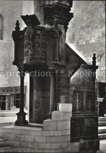 AK / Ansichtskarte Bitonto Cattedrale Kanzel