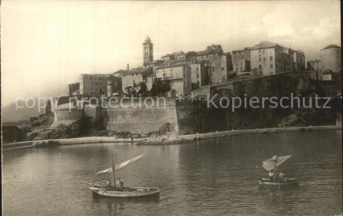 AK / Ansichtskarte Bastia La Citadelle et la vieille Ville Kat. Bastia