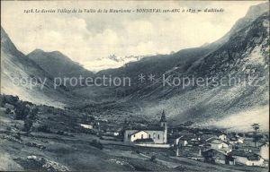AK / Ansichtskarte Bonneval sur Arc Le dernier village de la Vallee de la Maurienne Alpes Kat. Bonneval sur Arc