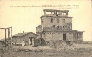 AK / Ansichtskarte Hohneck Le Sommet apres la Guerre Grande Guerre dans les Haute Vosges 1. Weltkrieg Kat. Gerardmer
