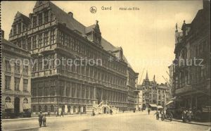 AK / Ansichtskarte Gand Belgien Hotel de Ville Kat. Gent Flandern