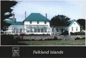 AK / Ansichtskarte Stanley Falklandinseln Government House
