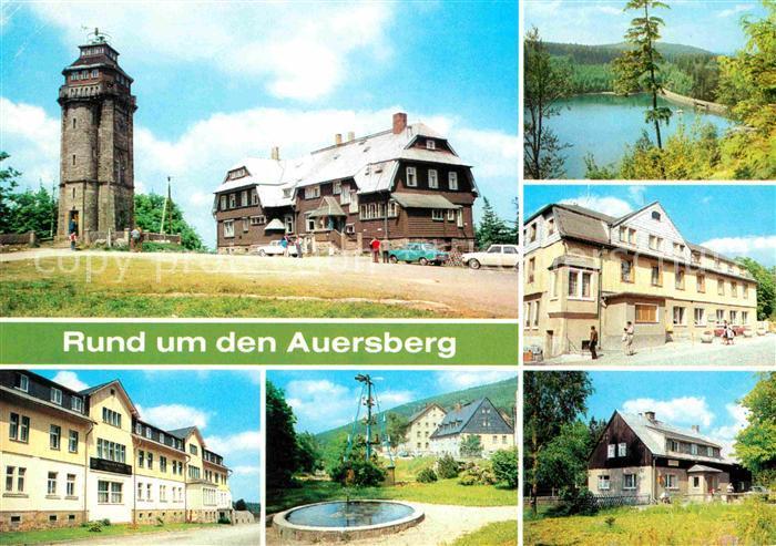 AK / Ansichtskarte Johanngeorgenstadt Rund um den Auersberg Kat. Johanngeorgenstadt