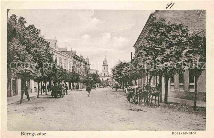 AK / Ansichtskarte Beregszasz bocskay utca Kat. Ukraine