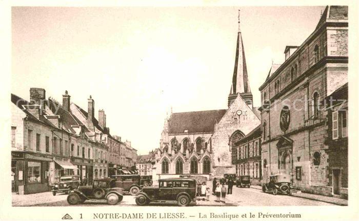 AK / Ansichtskarte Notre Dame de Liesse Basilique et le Preventorium  Kat. Liesse Notre Dame