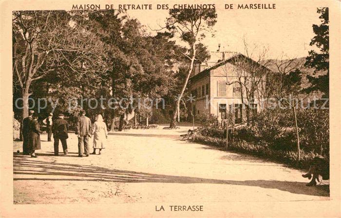 AK / Ansichtskarte Marseille Maison de Retraite des Cheminots de Marseille Kat. Marseille