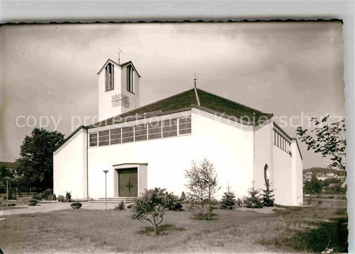 AK / Ansichtskarte Altenstadt Waldnaab Kirche Kat. Altenstadt a.d.Waldnaab