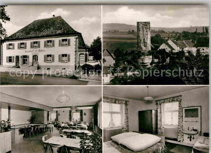 AK / Ansichtskarte Tengen Gasthaus zum Adler  Kat. Tengen